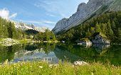 image of yugoslavia  - Lake Triglav Slovenia - JPG