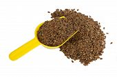 foto of flax seed oil  - Flax seeds - JPG