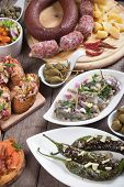 pic of antipasto  - Tapas or antipasto food - JPG