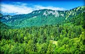 picture of mountain-high  - Beautiful mountain landscape - JPG