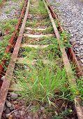Abandoned Railroad Tracks