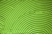 Background. Green wall with decorative lines