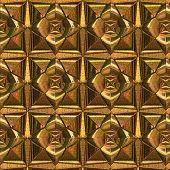 Golden Antique Art