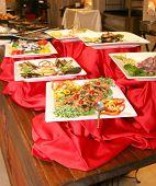 Buffet of restaurant