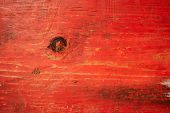 Red painted plank texture