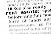 Real Estate (the Dictionary Project)