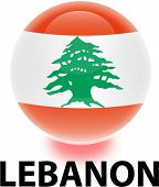 Orb Lebanon Flag
