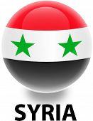 Orb Syria Flag