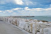 view on the south dock, San Benedetto del Tronto