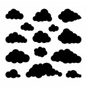 Cloud Set. Cloud Icon. Cloud Icon Art. Cloud Icon Picture. Cloud Icon Image. Cloud Icon Logo. Cloud  poster