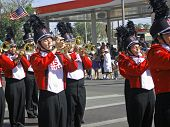 Roswell High School band