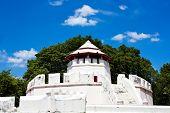 foto of kan  - Ancient Thai fortress named Pom Maha Kan in Bangkok - JPG