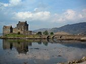stock photo of william wallace  - Great Britain Scotland Eilean Donan Castle 1