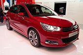 GENEVA - MARCH 8: The Citroen C4 on display at the 81st International Motor Show Palexpo-Geneva on M