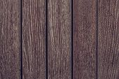 Dark Brown Wood Texture Background. Dark Brown Wooden Fence. Dark Wooden Boards Close-up. Pattern On poster
