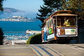 San Francisco Cable cars Alcatraz Insel