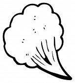 gust of wind cartoon (raster version)