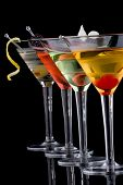 Classic Martini most popular Cocktails series