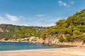 The bay near Begur city, Costa Brava, Spain