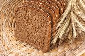 pic of whole-grain  - of whole wheat bread  - JPG