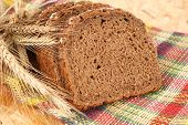 pic of whole-wheat  - of whole wheat bread  - JPG