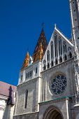 Matthias Church Also Called Church Of Our Lady Of Buda At The Heart Of Buda Castle District poster