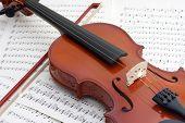Violin At Rest