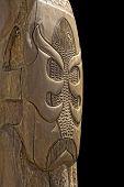 Maori Totem Carving