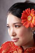 Постер, плакат: Азиатские женщины лицо
