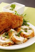 Creamy Stuffed Chicken