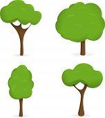 Four vector trees