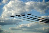 Blue Angels voar