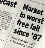 Market Free Fall