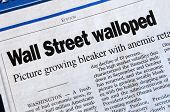 Wall Street Walloped