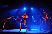 Parov Stelar Band performing live
