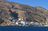 Sfakia port at Crete island, Greece