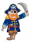 Pirata com Sabre