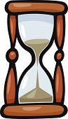 Hourglass Clip Art Cartoon Illustration