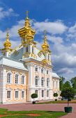 Grand Palace Peterhof. Petrodvorets, Saint-petersburg, Russia