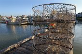 Crab Pots on the Dock, Steveston