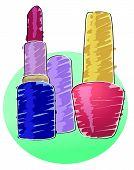 Nail Polish And Lipstick poster