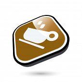 modern coffee sign