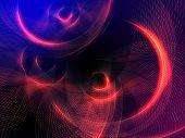 Orange Circles Background