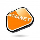 modern intranet sign