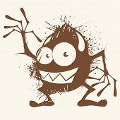 monstro dos desenhos animados antigos