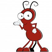 funny cartoon ant