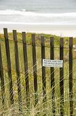 Stay off the Dune Grass
