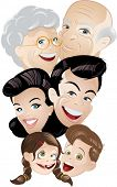 family generation cartoon