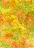 Handmade Watercolor Yellowish Texture