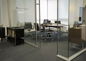 stock photo of partition  - the modern office interior  - JPG